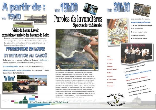 programme JOUR DE LOIRE